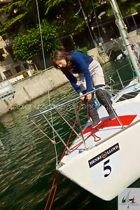 Sonia di Bruschetta assicura gli ormeggi  - J24ITA2014