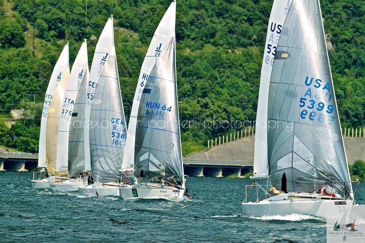 Concorrenti in dirittura d'arrivo - J24ITA2014