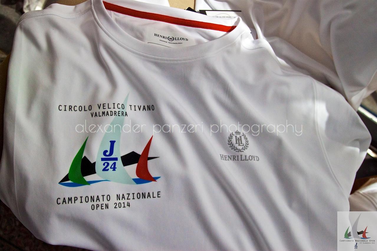 La maglia ufficiale  - J24ITA2014