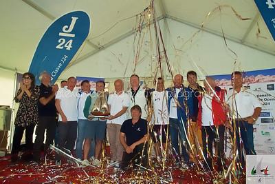 Team di Mollicona Campione d'Italia J14 2014