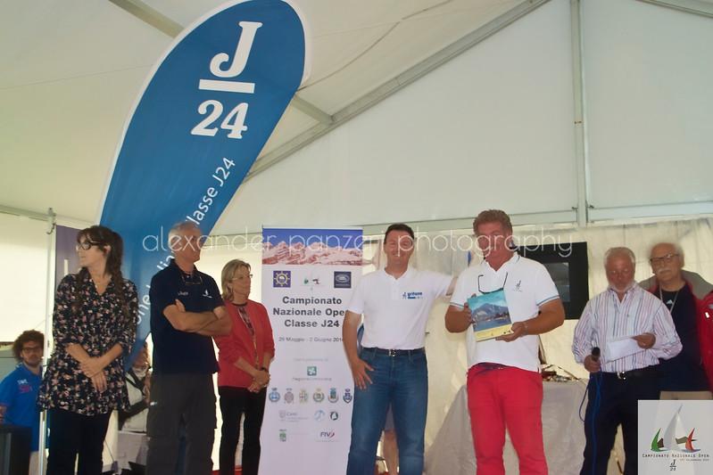 Fraia per il Team di Botta Dritta premiato per la quinta posizione Assoluta