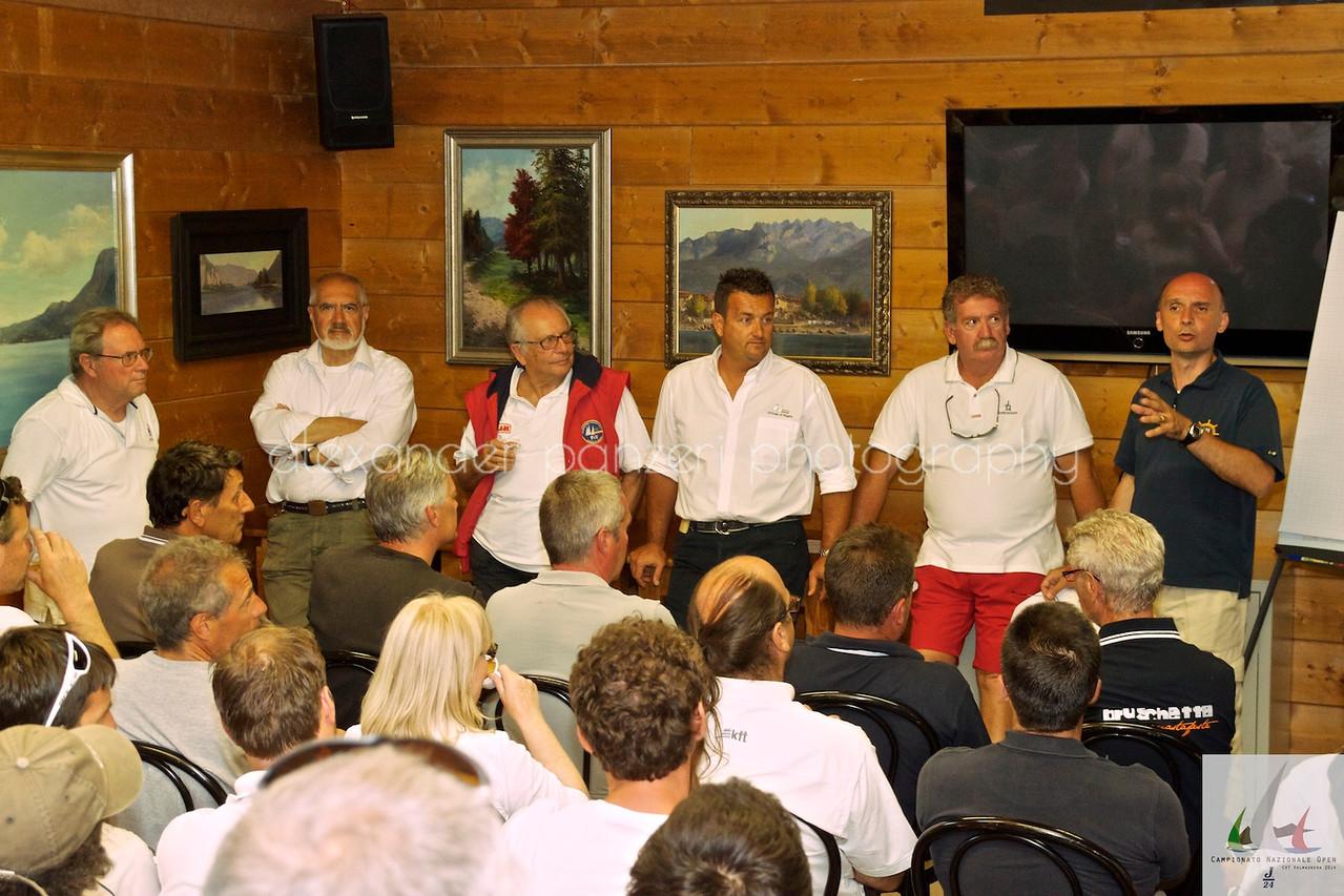 Skipper Meeting  - J24ITA2014