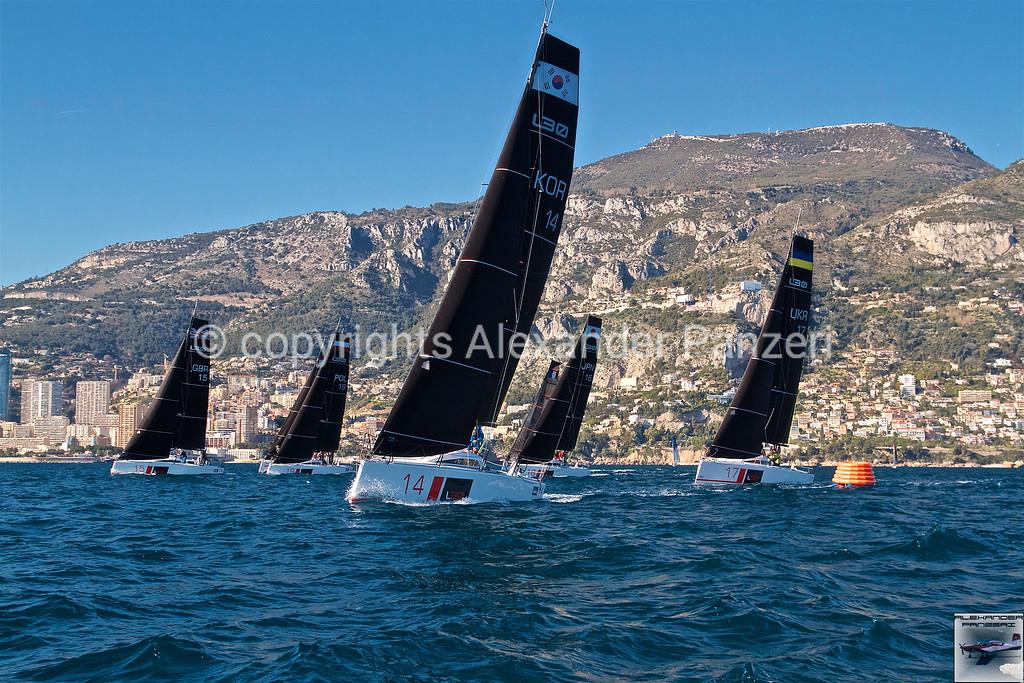 L30 fleet after the start - copyright © photo Alexander Panzeri