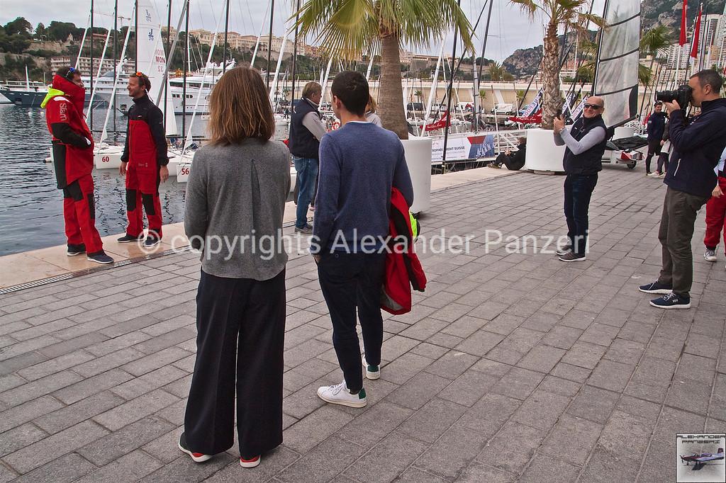 Salm backstage of fashion shooting - copyright © photo Alexander Panzeri