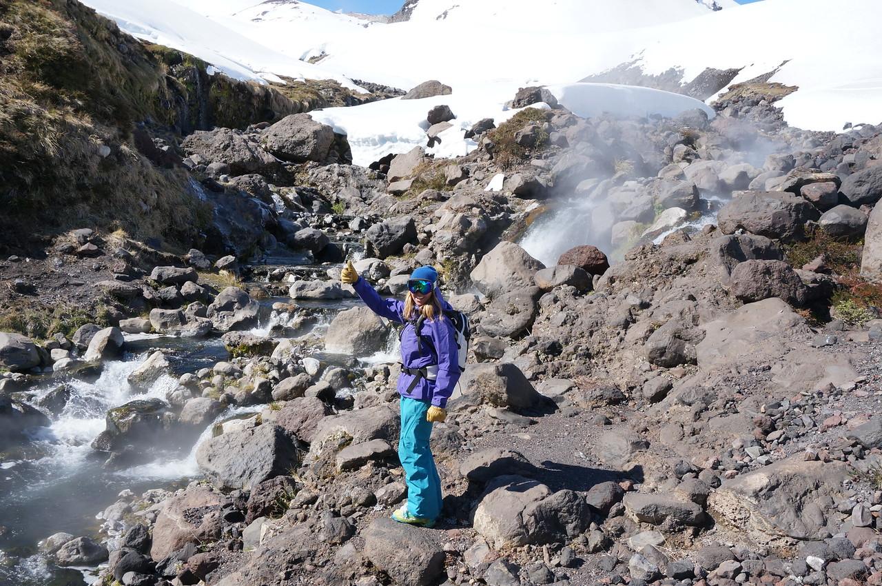 Pilot Argentina Scat expedition: Erica Cunningham, Tucker Cunningham, and Jeb Mirczak