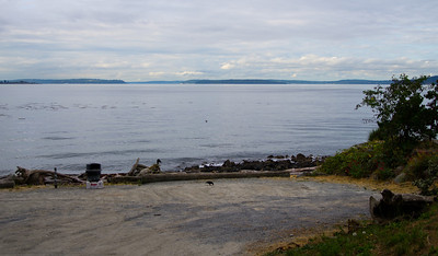 The view looking towards Alki and west of Alki