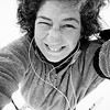 Day 328<br /> CB Nordic XC Ski Trails<br /> <br /> Big haired Andi covered in snow skiing around in a blizzard. What a dork!