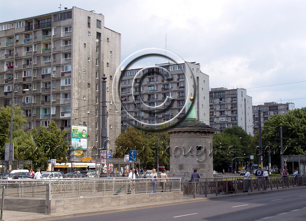 """We pass huge residential buildings, plain and gray – """"proletarian neighborhoods"""" - remnants of the communist rule.    <b>Click on photo to enlarge</b>"""