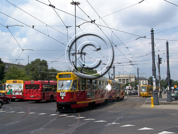 """<font size=""""+2""""><b> Warsaw</b></font>  Immediately on exiting the Frederic Chopin airport a surprise awaits the visitor.  For someone who is visiting Poland for the first time reality doesn't come near your expectations of an East European country on who's soil two thirds of the Jewish nation was massacred. Warsaw is blend of ancient and new, ruins from WWII, magnificent cathedrals, communist monuments, alongside Marks & Spencer and Kentucky Fried Chicken in shopping malls that would not embarrass any Western European city. Someone who has already been to Poland will also be surprised. Warsaw is in the midst of a great construction wave. Warsaw's skyline is littered with dozens of construction cranes. All the glass towers were built in the last decade. A city with 1.8 million residents doesn't resemble itself 10 years ago. Poland's entry into the European Union assures an accelerated continuance of the process.                               <b>Click on photo to enlarge</b>"""