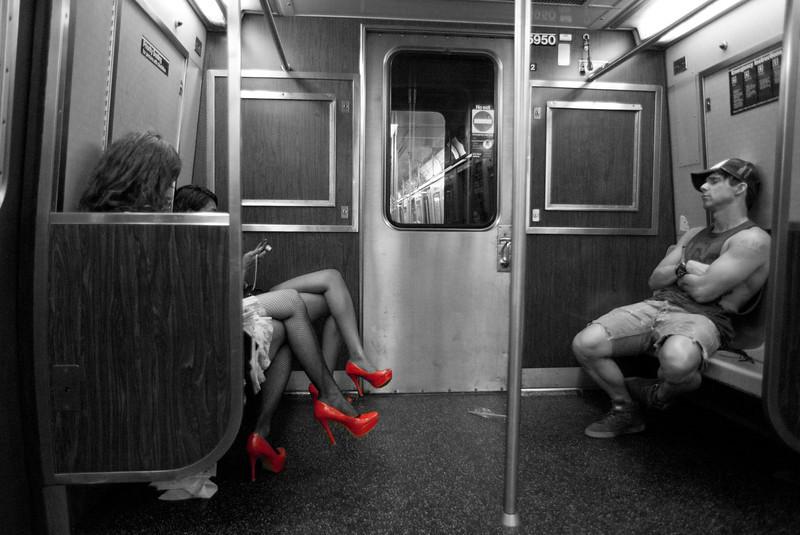 A Train, NYC Subway<br /> © Laura Razzano 2011