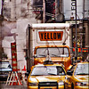 Yellow cabs, Manhattan<br /> New York<br />  © Laura Razzano