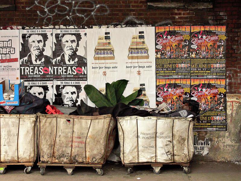 Homeless, New York<br /> © Laura Razzano 2011