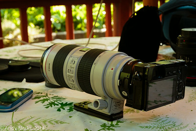 """Sleek looking, awesome lens, great camera, and a """"slow stills only"""" interface"""