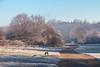 Trent Park in Winter