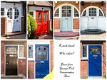 Doors from Grange Park Conservation Area2