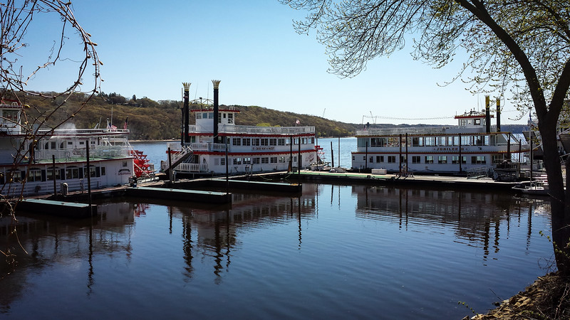 River Boats At Stillwater
