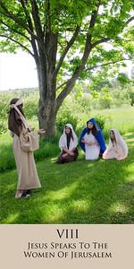 jesus speaks to the women