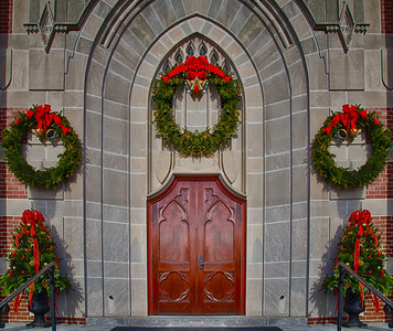 St. Mary's Parish Church - Franklin MA - Christmas
