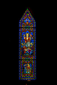 St James of Leesburg Stained Glass VIII