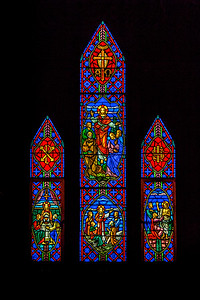 St. James Alcove Stained Glass