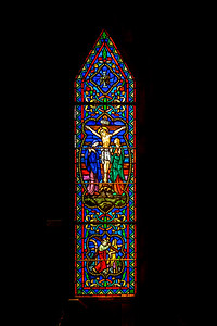 St James of Leesburg Stained Glass VII