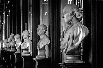 Trinity College Statue Busts