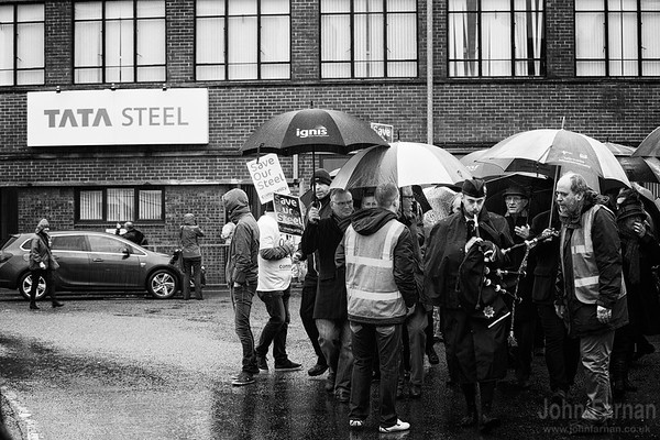 Motherwell Steel plant Save our steel march