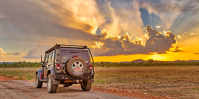 Storm Chasing Jeep