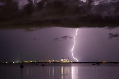 East Arm Lightning