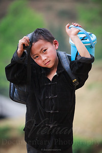 Hmong school boy