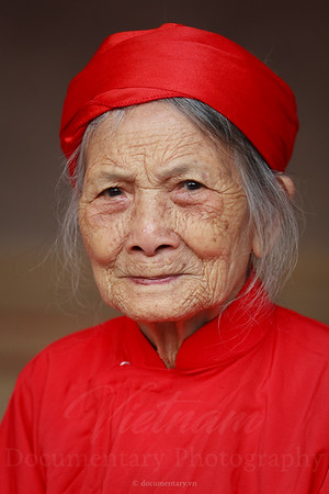 90-year-old woman