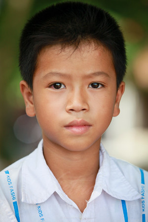 A boy from Thai Binh