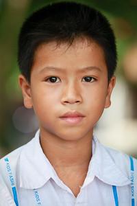 A boy from Thai Binh