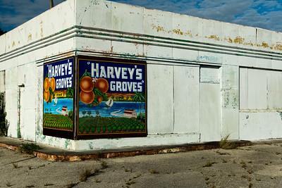 Harvey's Grove Wall Sign - Rockledge, FL