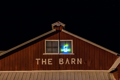 Barn at Night - Sanford, FL