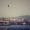 Balloon over the Bosphorus