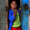 Kelly ~ Isla Amantaní, Lake Titicaca, Peru<br /> <br /> Kelly is 6 years old and lives on the Island of Amanti on Lake Titicaca. She wants to be a dancer when she grows up. The Island of Amantaní is truly stunning, with no cars or roads, overseen by two mountain peaks with Inca ruins, called Pachatata (Father Earth) and Pachamama (Mother Earth). The hillsides that steeply climb up from the lake from the lake are planted with wheat, potatoes, and vegetables, the fields still worked by the hands of the local Quechua speaking community. Cattle, sheep, and alpacas graze all around.