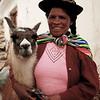 Woman and Llama ~ Cusco, Peru