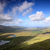 View from the Conor Pass, County Kerry