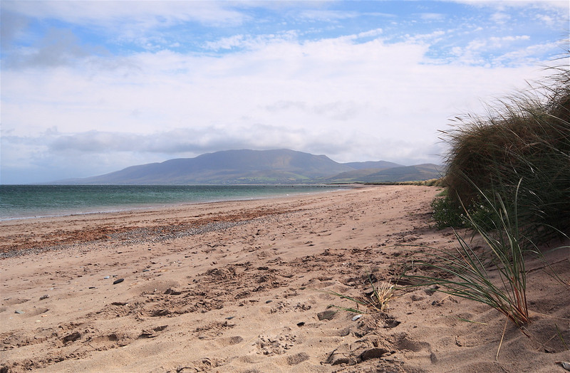 The beach at Castlegregory, County Kerry.