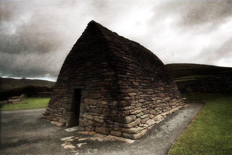 The Oratory.<br /> <br /> The Gallarus Oratory, Dingle Peninsula, County Kerry.