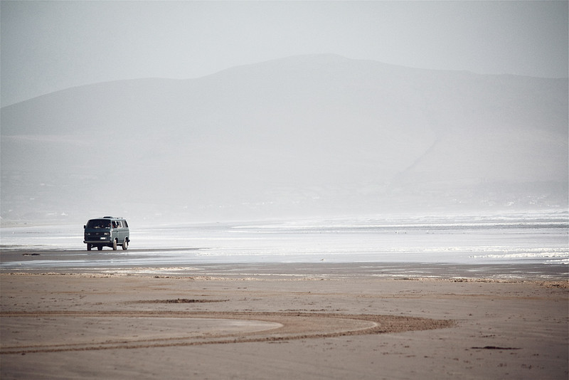 Solitude.<br /> <br /> Inch Beach, County Kerry.