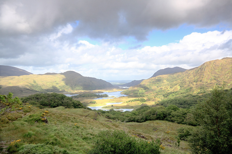 Ladies View<br /> <br /> Killarney National Park, County Kerry.