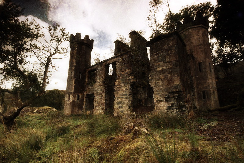 The Abandoned Castle.<br /> <br /> Killarney National Park, County Kerry.