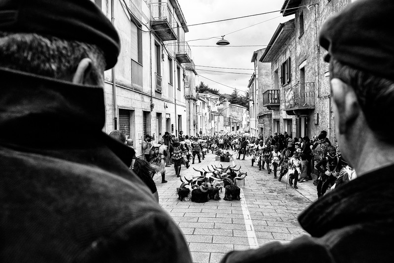 February 2018- Mamoiada, Sardinia – Italy. Anthropologists associate agricultural civilization with ancient ceremonies where time of Spring was always celebrated as the symbol of awakening the earth and vegetation. Spectators can follow the parade from the beginning and feel like part of the event. The preparation is a beautiful and interesting experience to be part of.