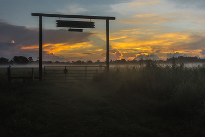 South Florida Ranch Sunrise