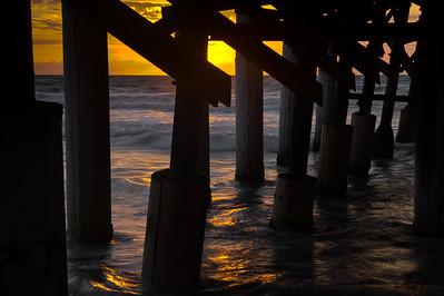 Cocoa Beach Pier Sunrise II