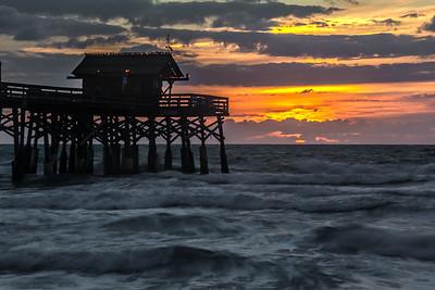 Cocoa Beach Pier Sunrise I