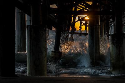 Cocoa Beach Pier Sunrise III