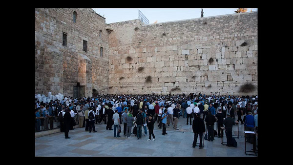 "Hundreds gathered this afternoon, on the 22nd day of the Jewish month of Kislev in the year 5771, at the Wailing Wall for a mass prayer for rain, following a day of fast called upon by Chief Rabbis of Israel. Services at the Kotel were lead by Rabbi Shlomo Moshe Amar, HaRishon LeTzion, Chief Rabbi of Sephardi Jews and President of The Great Rabbinical Court and silver horns were sounded. Yesterday, Rabbi Amar sent a plea to the worldwide Jewish community to join the fast and prayer, writing ""We must gather and shout out to the Creator of the universe to have mercy and compassion on his people Israel, and His mercies are abundant.""  According to statistical data provided by the Israel Meteorological Service to date there has only been 5mm of rainfall on a nationwide average, which is only about 7% of the rainfall last year at this time and only 1% of the multi-year seasonal average.  In spite of the prayers forecasters are predicting at least another ten dry days."